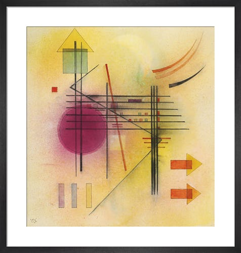 Vibrant 1928 by Wassily Kandinsky
