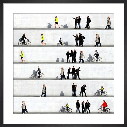 Wall People Detail No.1 by Eka Sharashidze