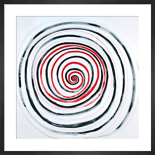 R. B. and W. Spiral for A. 1991 by Sir Terry Frost RA
