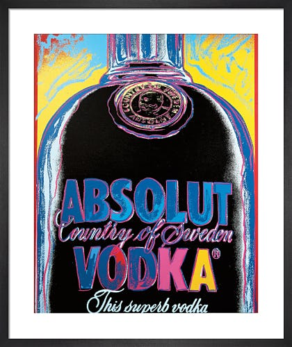 Absolut Vodka by Andy Warhol