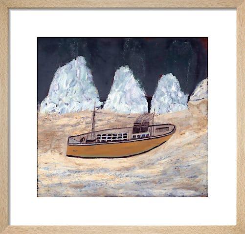 Voyage to Labrador, 1935-6 by Alfred Wallis