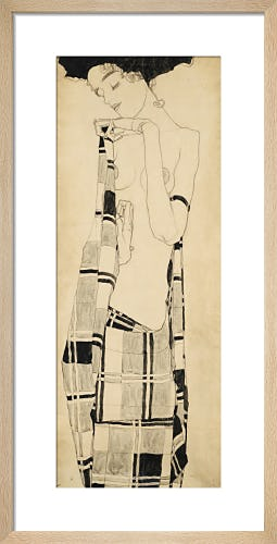 Standing Girl, c.1907-10 by Egon Schiele