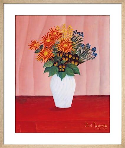 Bouquet of Flowers, c.1909-10 by Henri Rousseau