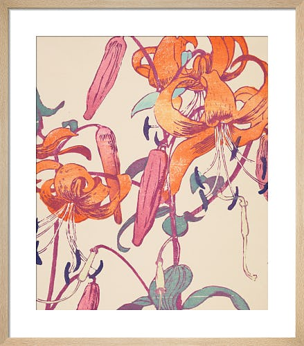 Tiger Lilies by Mabel Royds