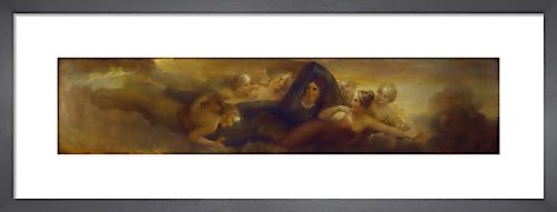 Night with the Pleiades (Library-Dining Room ceiling painting 4 of 6) by Henry Howard