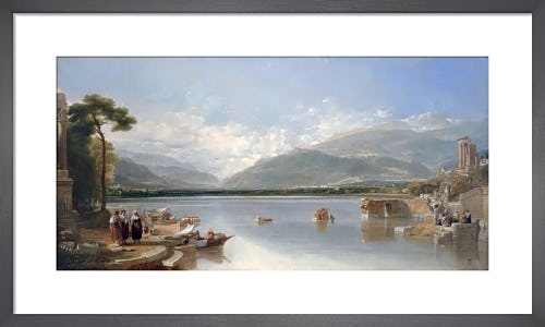 The Passage Point' an Italian Composition by Sir Augustus Wall Callcott