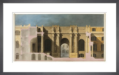 Bank of England Lothbury Court 1799 by The Soane Office