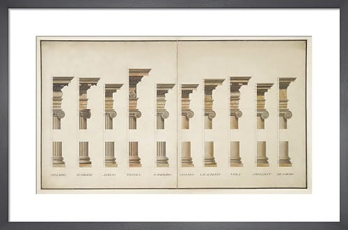 Ionic orders by The Soane Office
