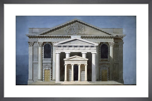 St Martin-in-the-Fields London the Portico of Augustus Rome and the Temple on the Ilissus Athens by The Soane Office