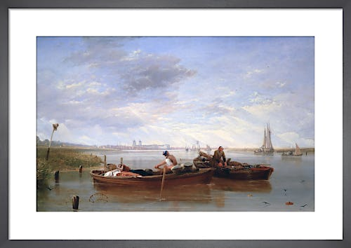 View of Greenwich Hospital and the River Thames Taken on the Isle of Dogs by Sir Augustus Wall Callcott