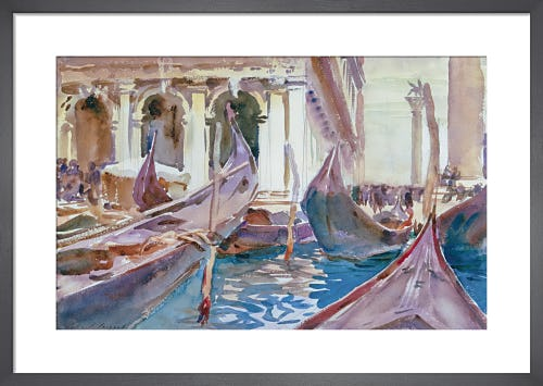 The Piazetta, Venice, c.1904 by John Singer Sargent