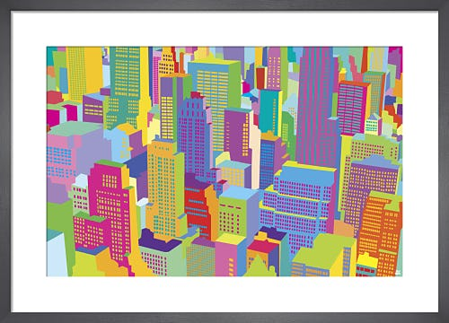 NYC Cityscape day by Yoni Alter