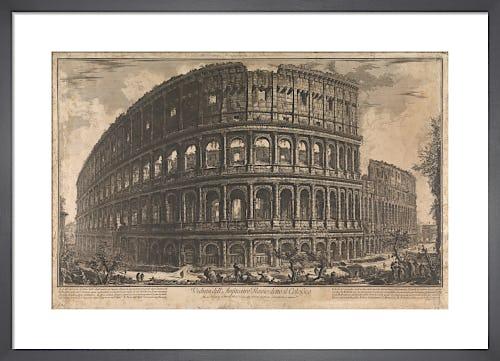 The Coliseum Rome by Giovanni Battista Piranesi