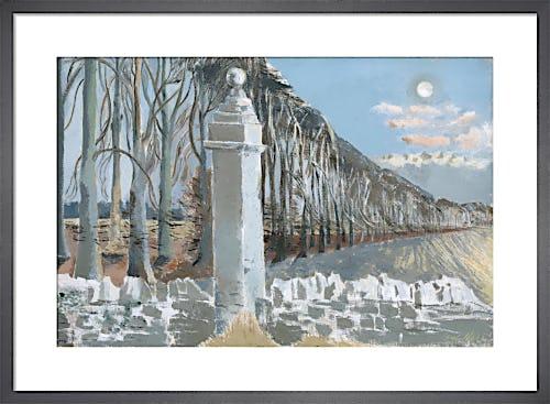 Pillar and Moon, 1932-42 by Paul Nash