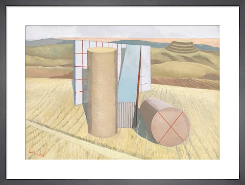 Equivalents for the Megaliths, 1935 by Paul Nash