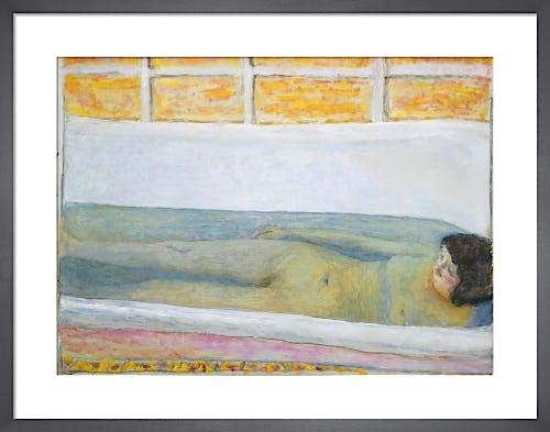 The Bath, 1925 by Pierre Bonnard