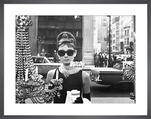 Audrey Hepburn, Breakfast at Tiffany's (1961) by Anonymous