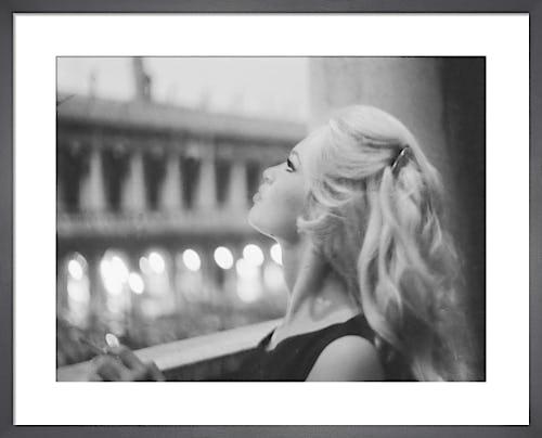 Brigitte Bardot, Saint Mark's Square, Italy, 1958 by Mario De Biasi