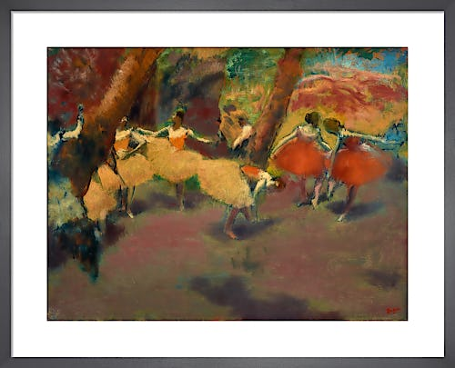 Before the Performance by Edgar Degas