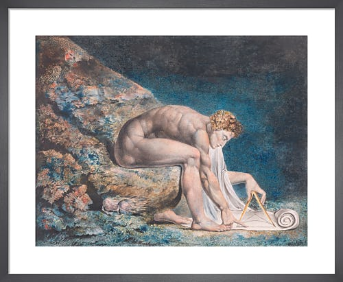 Newton, 1795 by William Blake