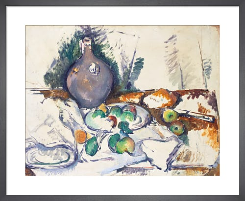 Still Life with Water Jug, c.1892-3 by Paul Cézanne
