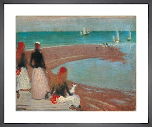 The Beach at Walberswick, c.1889 by Philip Wilson Steer