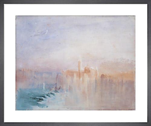 Venice: San Giorgio Maggiore at Sunset, from the Riva Degli Schaivoni, 1840 by Joseph Mallord William Turner