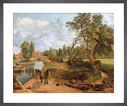 Flatford Mill ('Scene on a Navigable River'), 1816-17 by John Constable