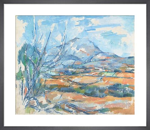 Montagne Sainte-Victoire by Paul Cézanne