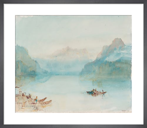 Lake Lucerne: The Bay of Uri, from Brunnen, c.1841-2 by Joseph Mallord William Turner