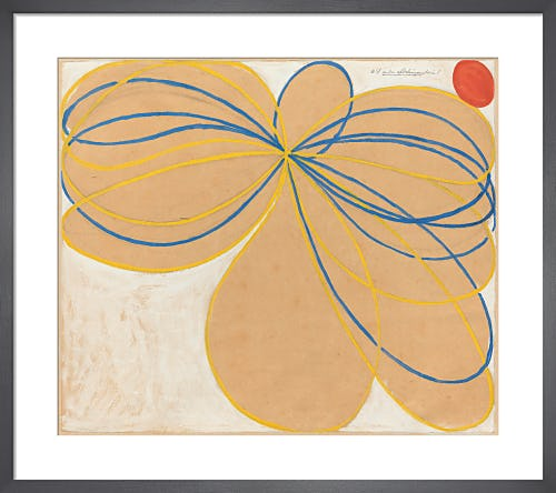Group V, The Seven-Pointed Star, No. 1, 1908. by Hilma af Klint