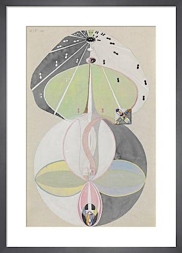 Tree of Knowledge, No. 5, 1915. by Hilma af Klint