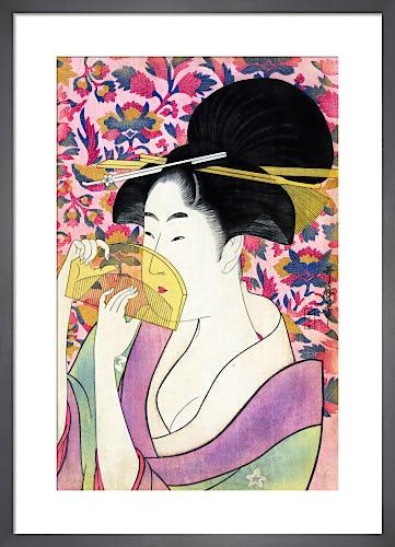 Kushi (Comb), c.1780s by Kitagawa Utamaro