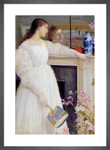 Symphony in White, No 2: The Little White Girl, 1864 by James Abbot McNeill Whistler