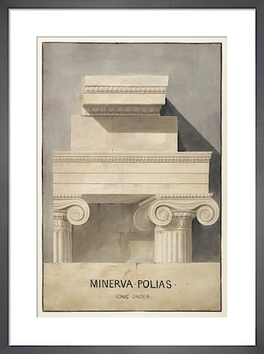 Athens Erechtheum Ionic order by The Soane Office