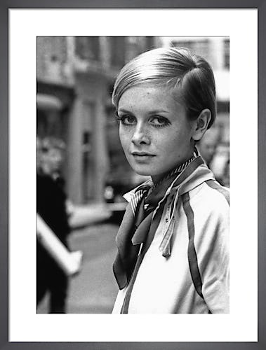 Twiggy, London, 1967 by Anonymous