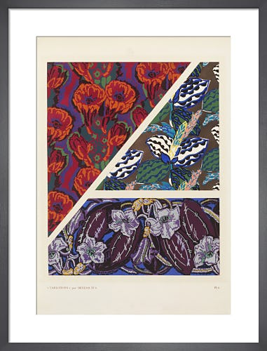 Plate 6 from Variations, Paris, 1924 by Édouard Bénédictus
