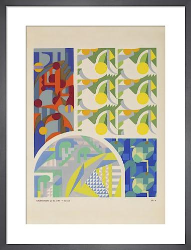 Plate 3 from Kaleidoscope, Paris, 1926 by Adam and Maurice-Pillard Verneuil