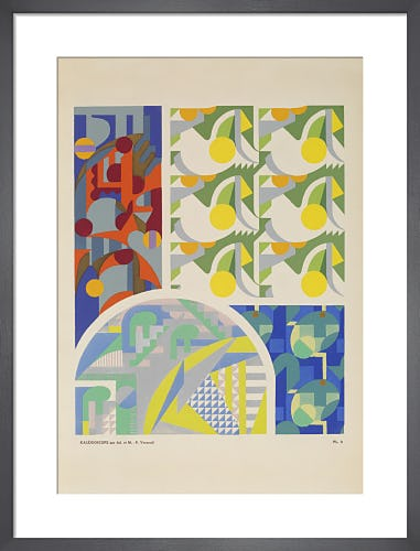 Plate 3 from Kaleidoscope, Paris, 1926 by Adam and Maurice-Pillard Verneuil