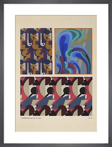Plate 10 from Kaleidoscope, Paris, 1926 by Adam and Maurice-Pillard Verneuil