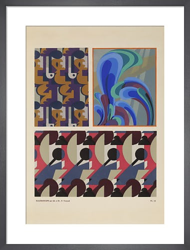 Plate 10 from Kaleidoscope, Paris, 1926 by Adam and Maurice-Pillard Verneuil