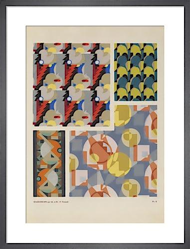 Plate 5 from Kaleidoscope, Paris, 1926 by Adam and Maurice-Pillard Verneuil