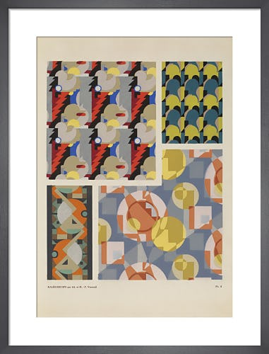 Plate 5 from Kaleidoscope, Paris, 1926 by Adam and Maurice-Pillard Verneuil