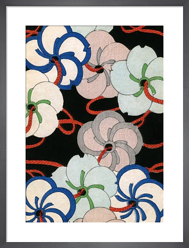 Camelia Ornaments, 1882 by Japanese School (19th century)