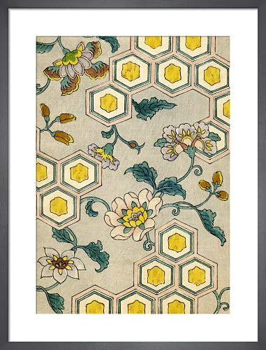 Blossoms & Honeycomb, 1882 by Japanese School (19th century)