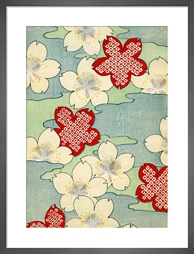 Dogwood Blossom, 1882 by Japanese School (19th century)
