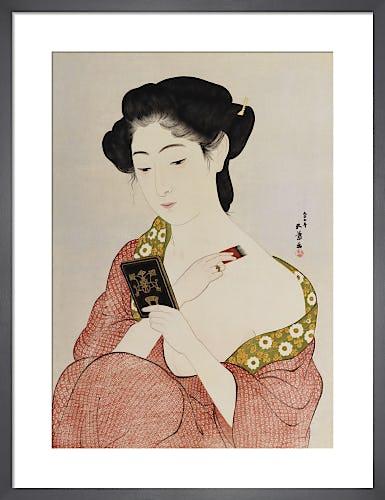 A Woman in Underclothes, 1918 by Goyo Hashguchi