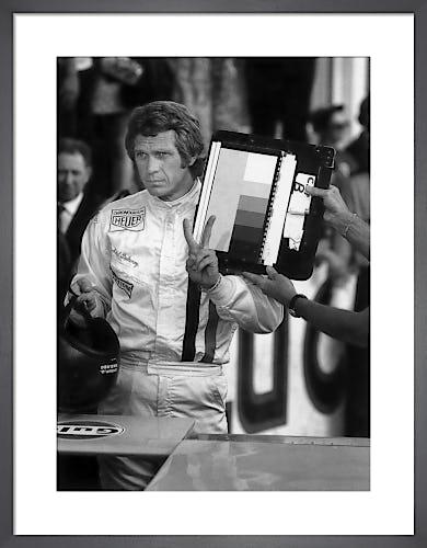 Steve McQueen, Le Mans (1971) by Andre Marc Delourmel
