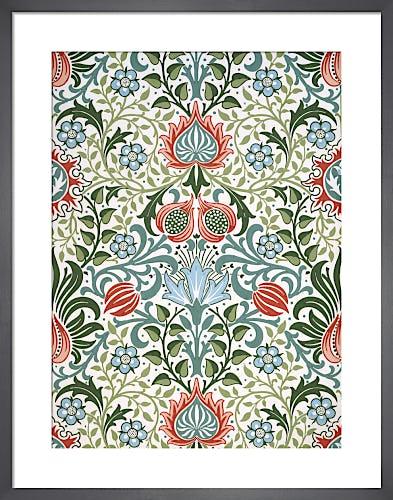 Persian wallpaper, 1904 by J H Dearle