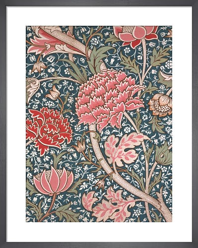 Cray furnishing fabric, 1884 by William Morris